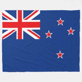 Flagge von Neuseeland Fleecedecke