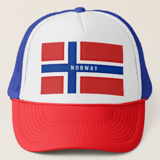 Flagge von Norwegen Retro Cap