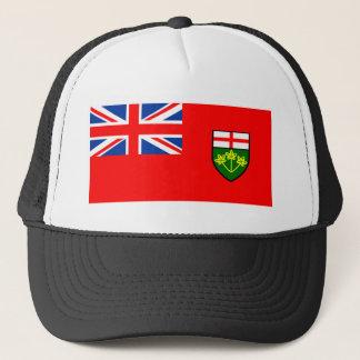 Flagge von Ontario Truckerkappe