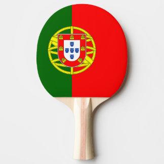 Flagge von Portugal-Klingeln Pong Paddel Tischtennis Schläger