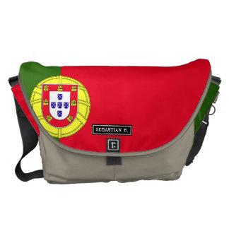 Flagge von Portugal Kuriertasche