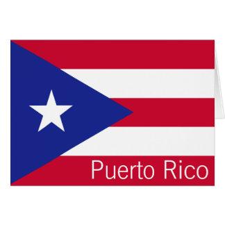 Flagge von Puerto Rico Karte