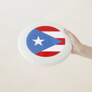 Flagge von Puerto- Ricosport Wham-O Frisbee