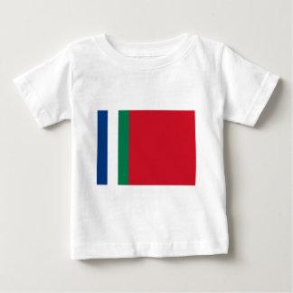 Flagge von Republik Maluku Selatan (SüdMolukken) Baby T-shirt