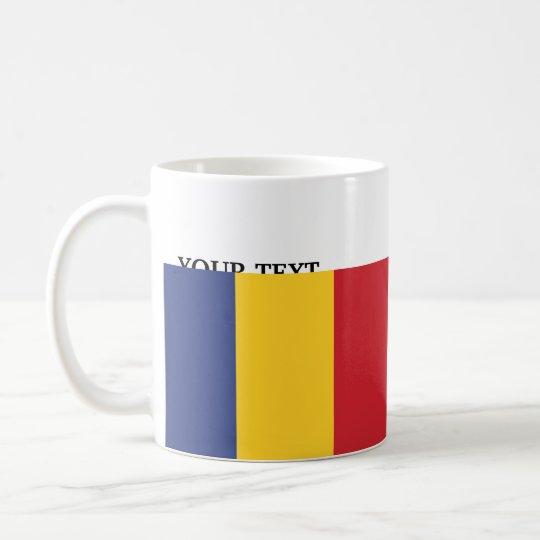Flagge von Rumänien Kaffeetasse