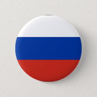 Flagge von Russland - ФлагРоссии - Триколор Runder Button 5,1 Cm