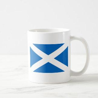 Flagge von Schottland Kaffeetasse