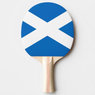 Flagge von Schottland-Klingeln Pong Paddel Tischtennis Schläger