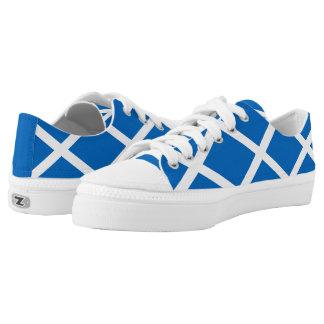 Flagge von Schottland oder von Saltire Niedrig-geschnittene Sneaker