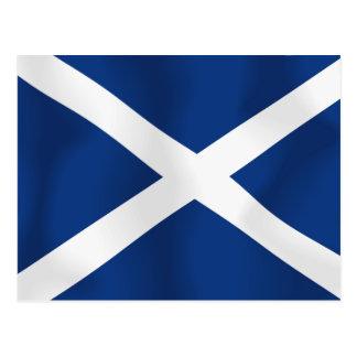 Flagge von Schottland Postkarte