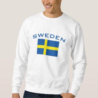 Flagge von Schweden Sweatshirt