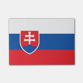 Flagge von Slowakei Posten-it® Anmerkungen Post-it Klebezettel