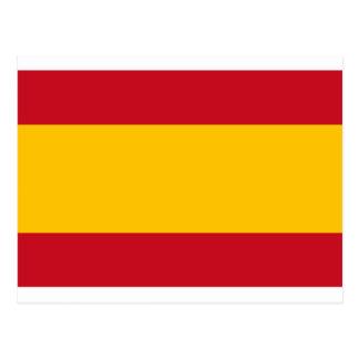 Flagge von Spanien, Bandera de España, Bandera Postkarte