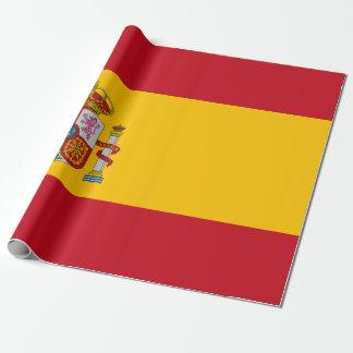 Flagge von Spanien - Bandera de Espana Geschenkpapier