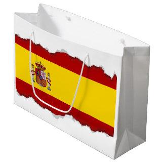 Flagge von Spanien Große Geschenktüte