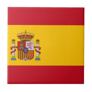 Flagge von Spanien Keramikfliese
