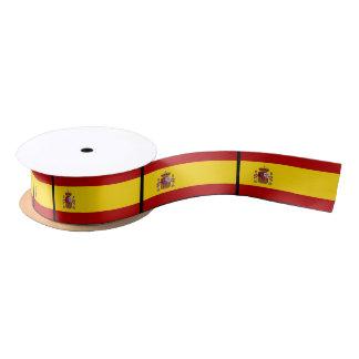 Flagge von Spanien Satinband