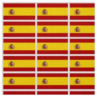Flagge von Spanien Stoff