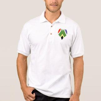 Flagge von Südafrika Bokke Polo Shirt