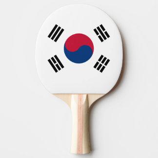 Flagge von Südkorea-Klingeln Pong Paddel Tischtennis Schläger