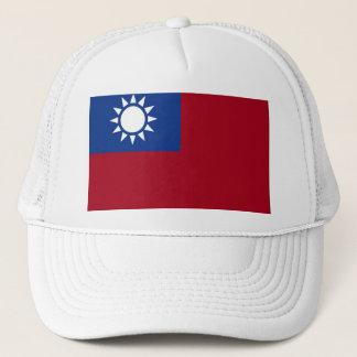 Flagge von Taiwan die Republik China Truckerkappe