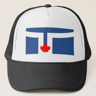 Flagge von Toronto Truckerkappe