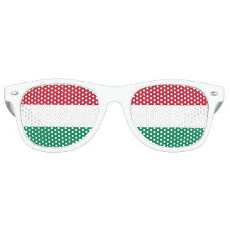 Flagge von Ungarn Retro Sonnenbrillen