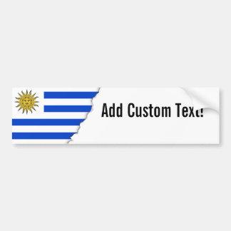 Flagge von Uruguay Autoaufkleber