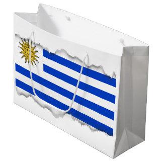 Flagge von Uruguay Große Geschenktüte