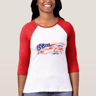 Flagge von USA T-Shirt