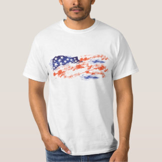 Flagge von USA Tshirt