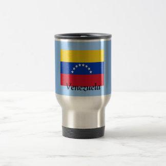 Flagge von Venezuela Reisebecher
