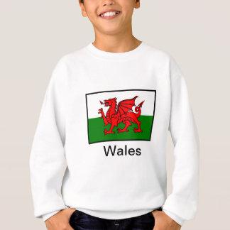 Flagge von Wales Sweatshirt