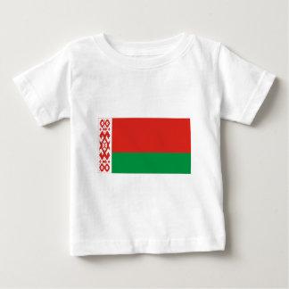 Flagge von Weißrussland Baby T-shirt