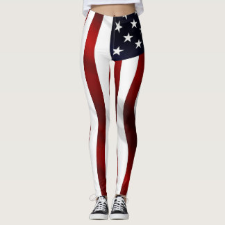 Flagge-Welle Leggings