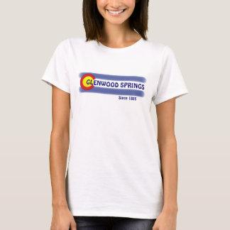 Flaggen-Dament-stück Glenwood Springs Colorado T-Shirt
