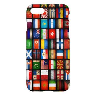 Flaggen der verschiedenen Länder iPhone 8/7 Hülle