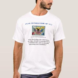 Flaggen-Entschließung T-Shirt