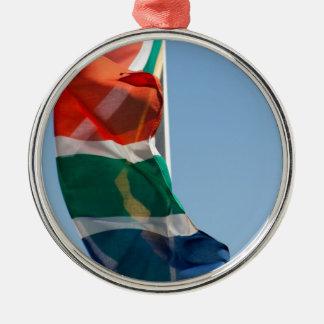 Flaggen - Flags Rundes Silberfarbenes Ornament