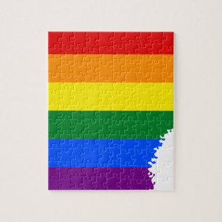 Flaggen-Karte Arkansas LGBT