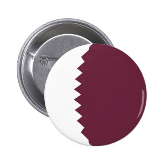 Flaggen-Knopf Qatars Fisheye Runder Button 5,7 Cm
