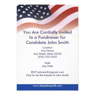 Flaggen-politische Einladung
