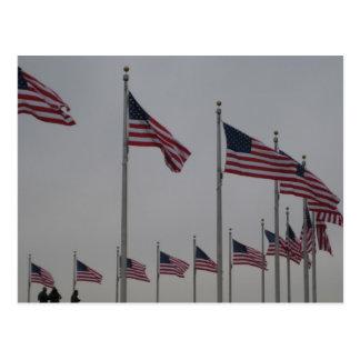 Flaggen Postkarte