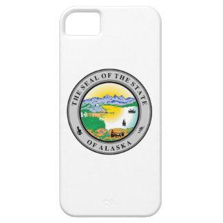 Flaggen-Symbol repu Alaska-Siegelvereinigter iPhone 5 Case