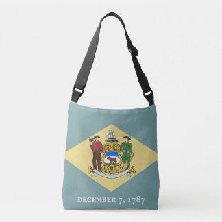 Flaggen-Tasche, Delaware Tragetaschen Mit Langen Trägern