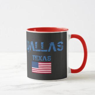 Flaggen-Tasse Dallas Texas Tasse