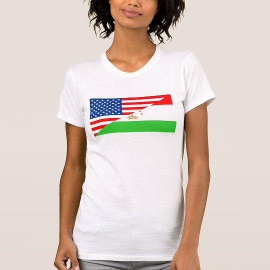 Flaggen-USA cou Vereinigter Staaten Amerika T-Shirt