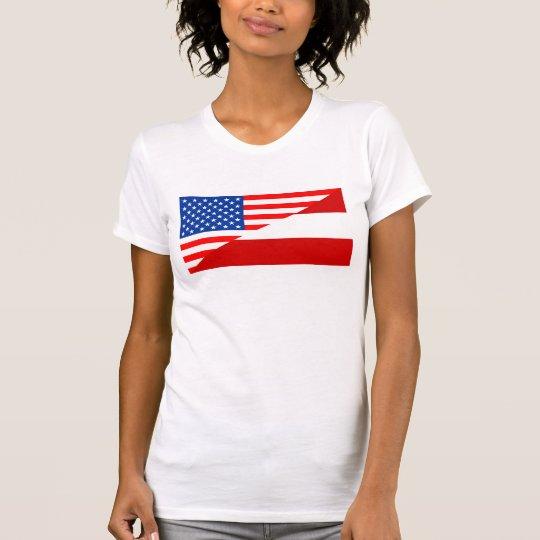Flaggen-USA countr Vereinigter Staaten Amerika T-Shirt