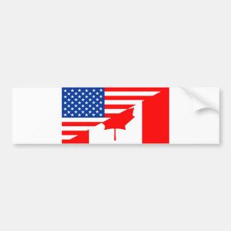 Flaggen-USA-Land Vereinigter Staaten Amerika Autoaufkleber