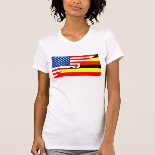 Flaggen-USA-Land Vereinigter Staaten Amerika T-Shirt